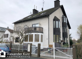 WEG-Verwaltung; Mehrfamilienhaus in Mainz-Kostheim