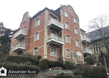 WEG-Verwaltung: Altbau-Wohnhaus in Wiesbaden